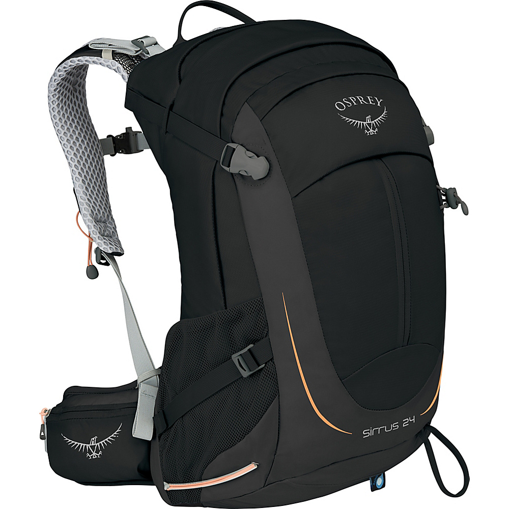 Osprey Womens Sirrus 24 Hiking Pack Black- DISCONTINUED - Osprey Day Hiking Backpacks - Outdoor, Day Hiking Backpacks