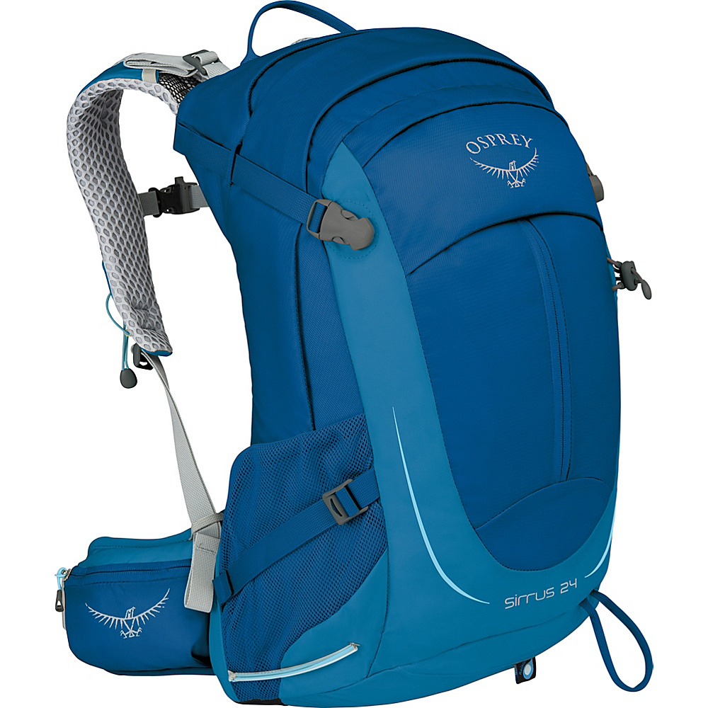 Osprey Womens Sirrus 24 Hiking Pack Summit Blue - Osprey Day Hiking Backpacks - Outdoor, Day Hiking Backpacks