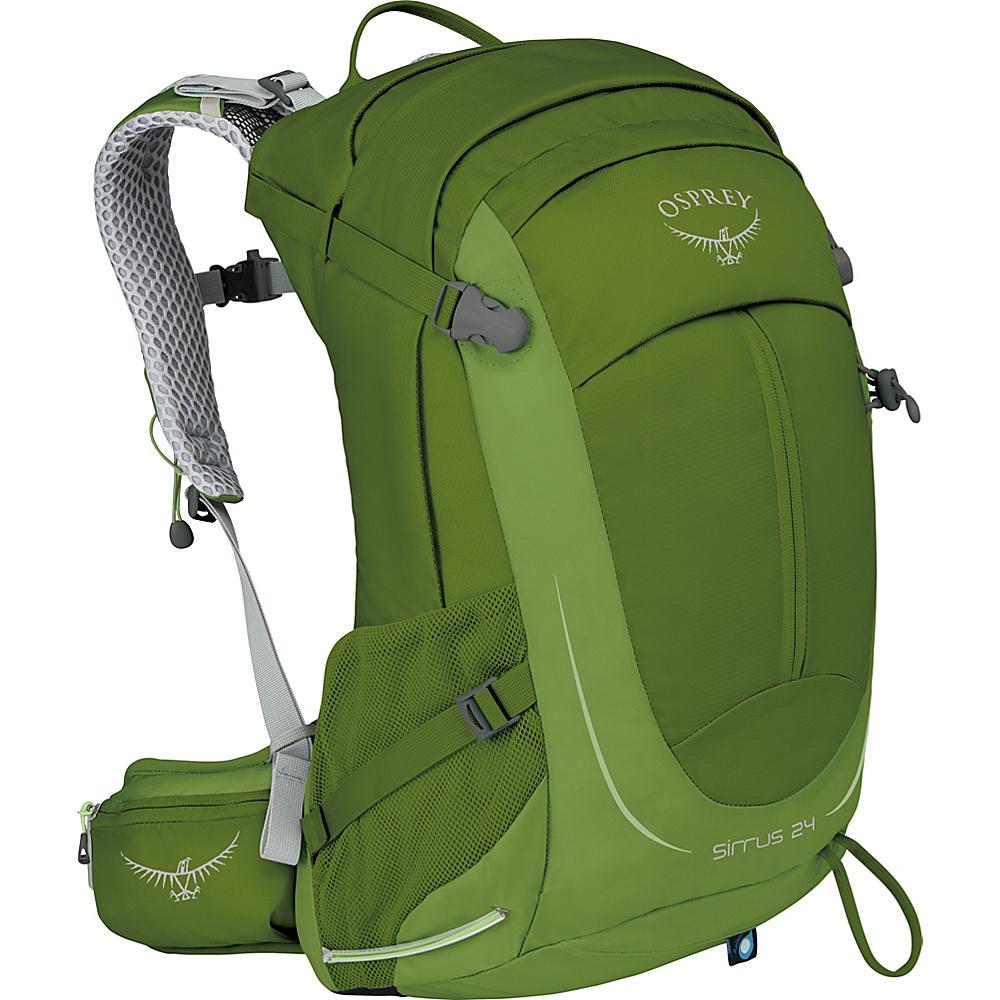 Osprey Womens Sirrus 24 Hiking Pack Thyme Green - Osprey Day Hiking Backpacks - Outdoor, Day Hiking Backpacks