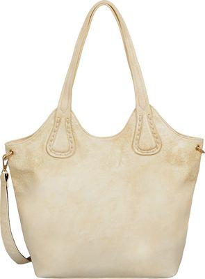 Mellow World Darlene Tote Beige - Mellow World Manmade Handbags