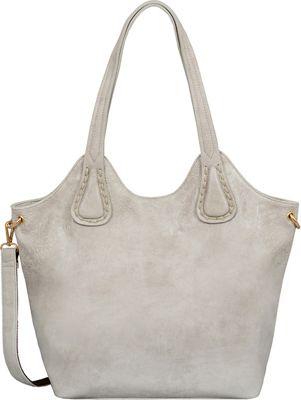 Mellow World Darlene Tote Light Grey - Mellow World Manmade Handbags