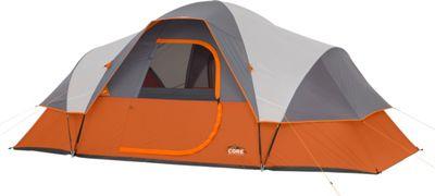 Core Equipment 9P Modified Dome Tent Orange - Core Equipment Outdoor Accessories