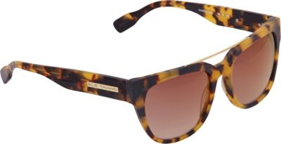 Elie Tahari Sunglasses Vintage Inspired Rectangle with Metal Brow Bar Sunglasses Tokyo Tortoise - Elie Tahari Sunglasses Eyewear