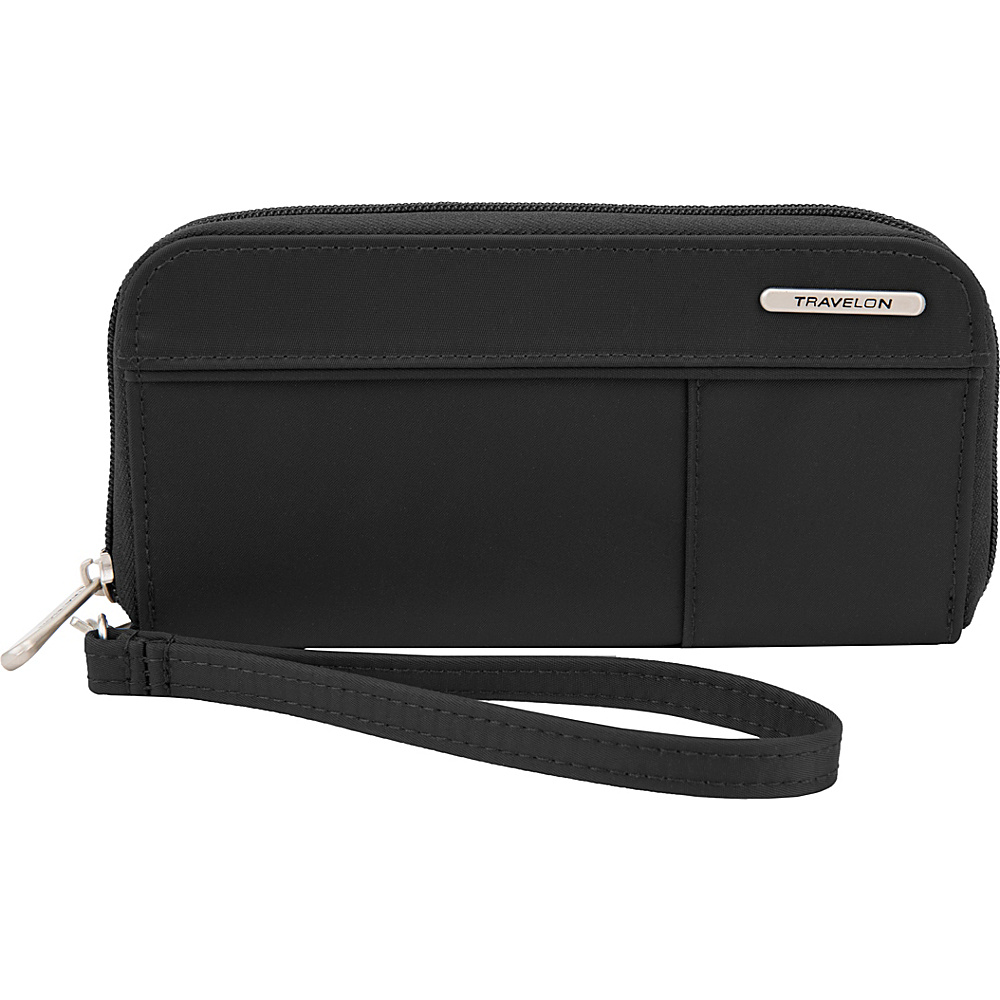 Travelon RFID Welted Wallet - Exclusive Black - Travelon Womens Wallets - Women's SLG, Women's Wallets