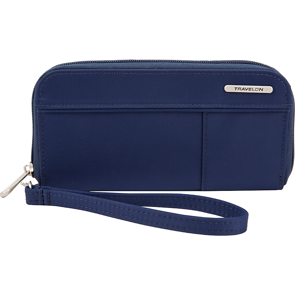 Travelon RFID Welted Wallet - Exclusive Navy - Travelon Womens Wallets - Women's SLG, Women's Wallets