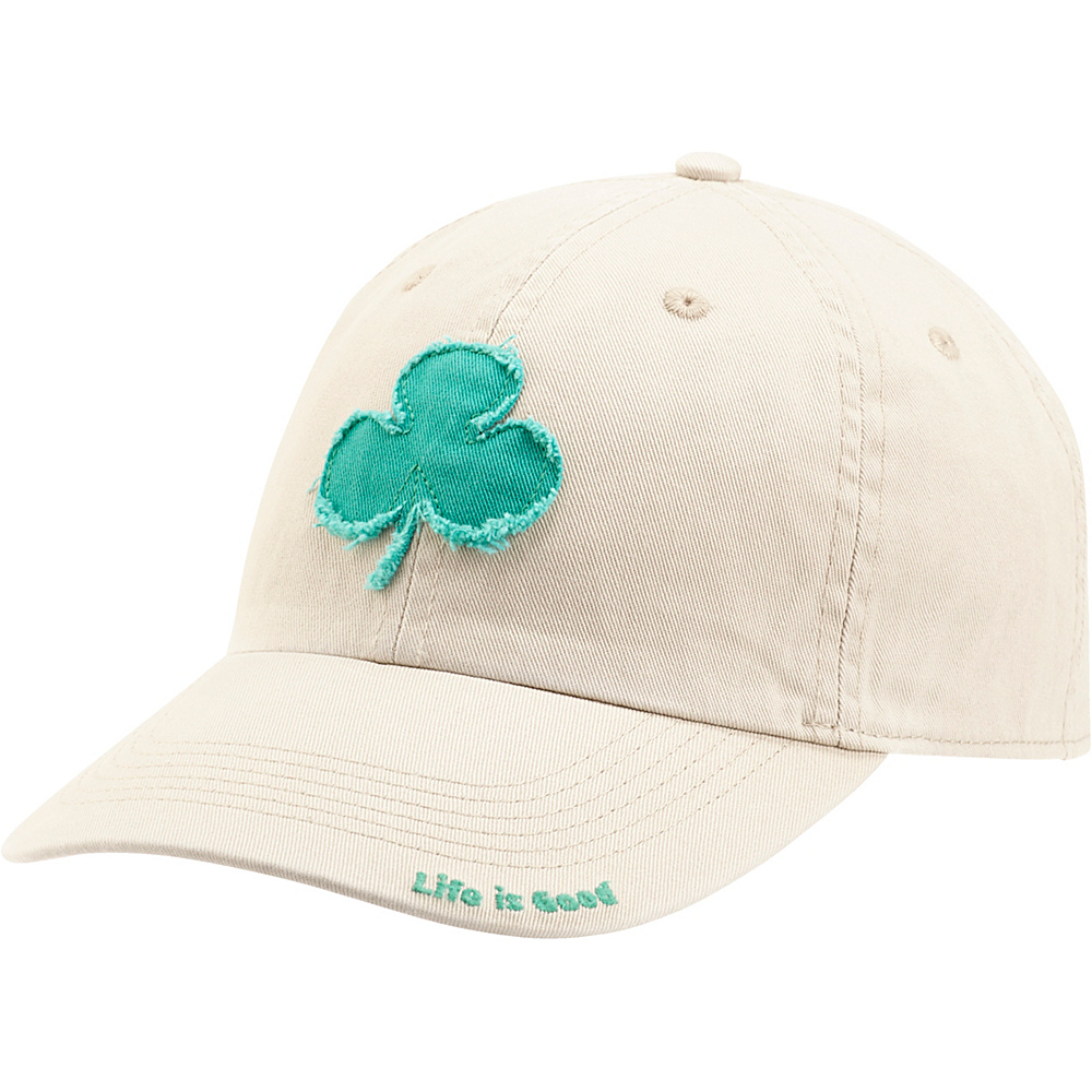 Life is good Tattered Chill Cap Clover One Size - Bone - Life is good Hats - Fashion Accessories, Hats