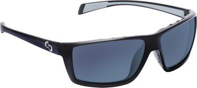 Native Eyewear Sidecar Sunglasses Matte Black with Polarized Blue Reflex - Native Eyewear Eyewear