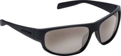 Native Eyewear Crestone Sunglasses Matte Black/Dark Gray/Matte Black with Polarized S - Native Eyewear Eyewear