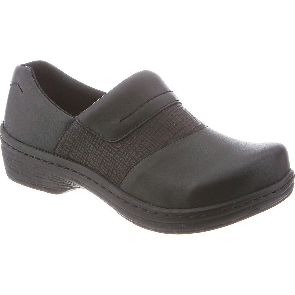 KLOGS Footwear Womens Cardiff 7.5 - W (Wide) - Black Kpr - KLOGS Footwear Womens Footwear - Apparel & Footwear, Women's Footwear