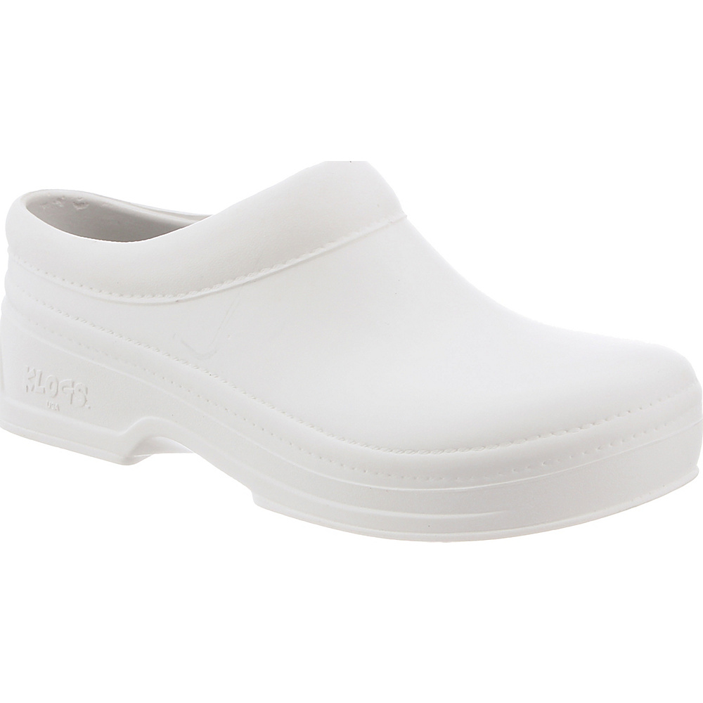 KLOGS Footwear Womens Springfield 12 - W (Wide) - White - KLOGS Footwear Womens Footwear - Apparel & Footwear, Women's Footwear