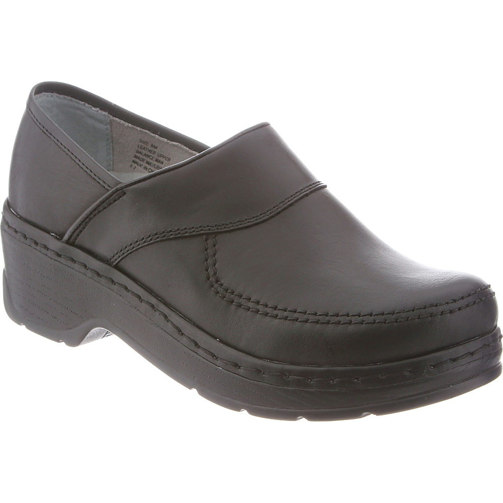 KLOGS Footwear Womens Sonora 7.5 - M (Regular/Medium) - Black Smooth - KLOGS Footwear Womens Footwear - Apparel & Footwear, Women's Footwear