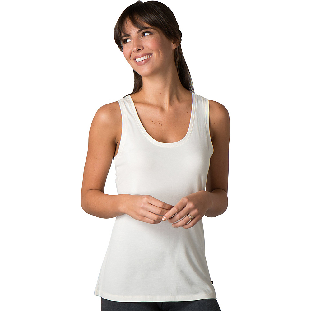 Toad & Co Lean Layering Tank M - Egret - Toad & Co Womens Apparel - Apparel & Footwear, Women's Apparel