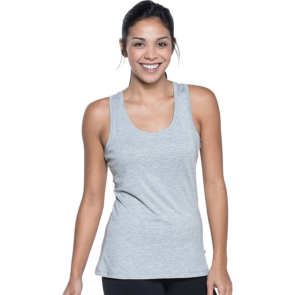 Toad & Co Lean Layering Tank M - Heather Grey - Toad & Co Womens Apparel - Apparel & Footwear, Women's Apparel