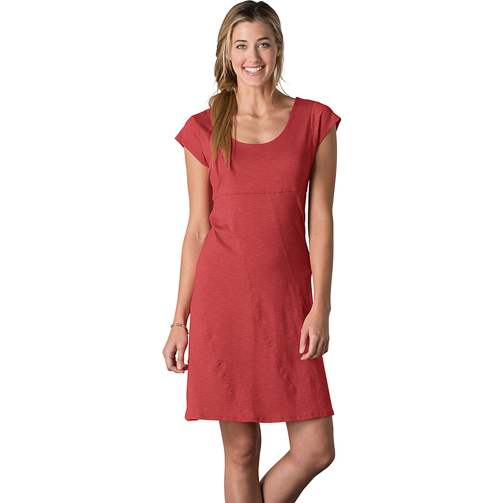 Toad & Co Nena Dress XL - Red Clay - Toad & Co Womens Apparel - Apparel & Footwear, Women's Apparel