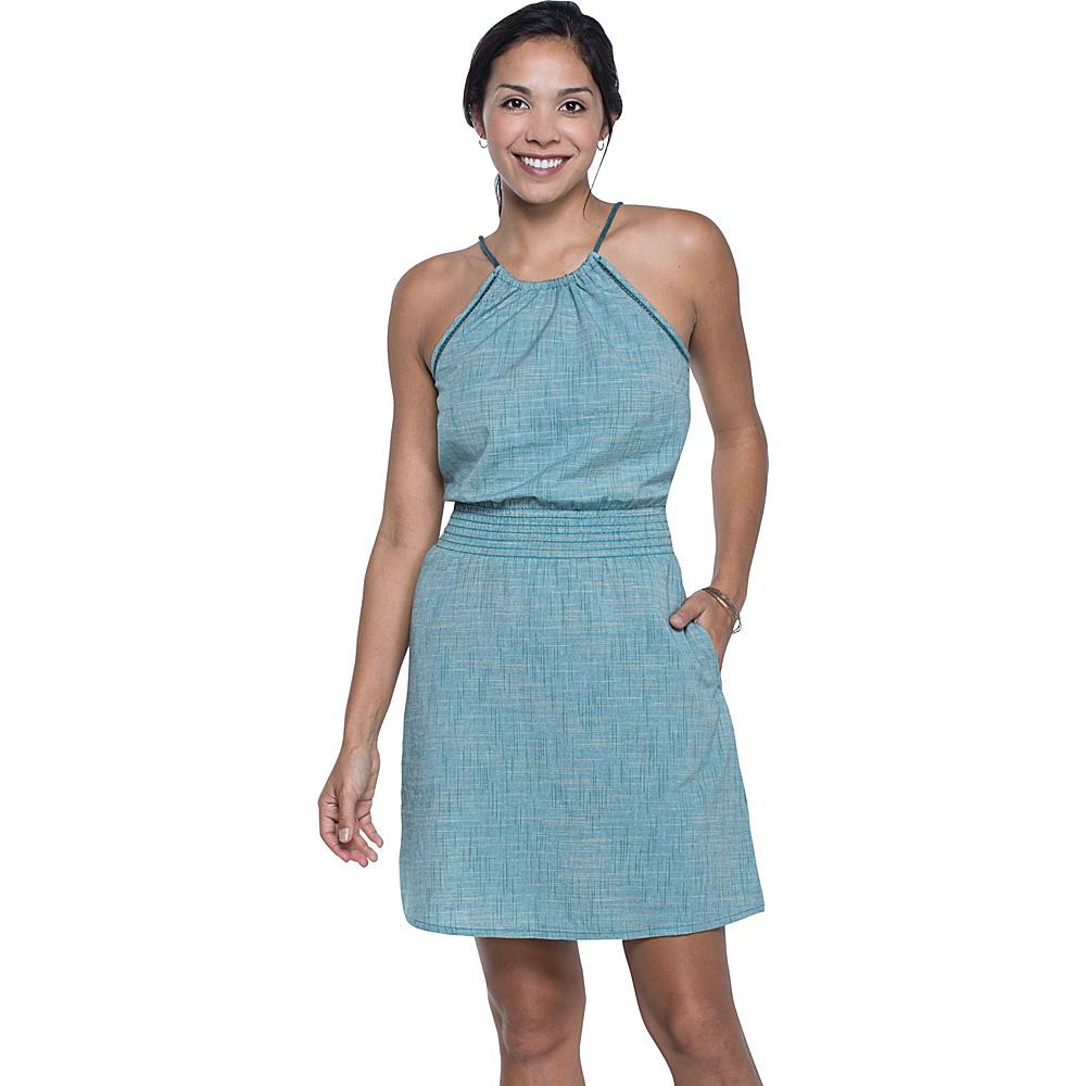 Toad & Co Festi Dress M - Hydro - Toad & Co Womens Apparel - Apparel & Footwear, Women's Apparel
