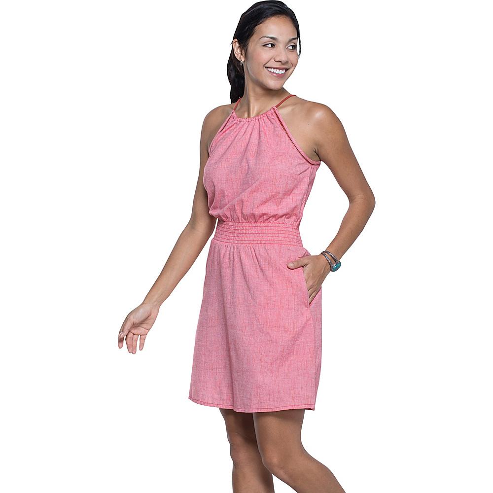 Toad & Co Festi Dress S - Parakeet Red - Toad & Co Womens Apparel - Apparel & Footwear, Women's Apparel