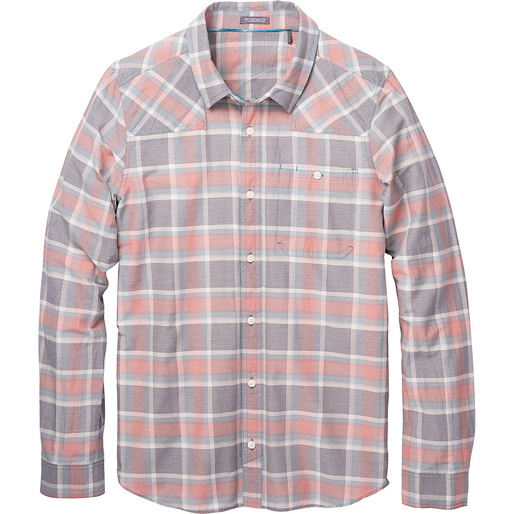 Toad & Co Wonderer Long Sleeve Shirt XXL - Buckskin - Toad & Co Mens Apparel - Apparel & Footwear, Men's Apparel