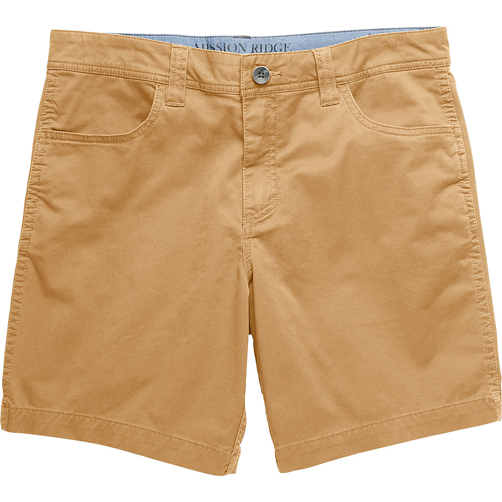 Toad & Co Mission Ridge Short 8 Inch 34 - 8in - Honey Brown - Toad & Co Mens Apparel - Apparel & Footwear, Men's Apparel