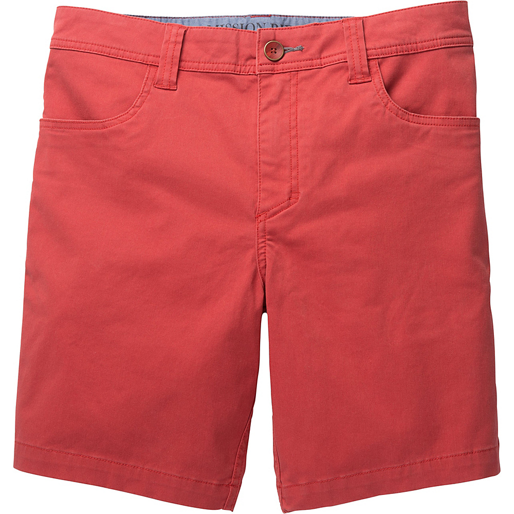 Toad & Co Mission Ridge Short 8 Inch 38 - 8in - Red Clay - Toad & Co Mens Apparel - Apparel & Footwear, Men's Apparel