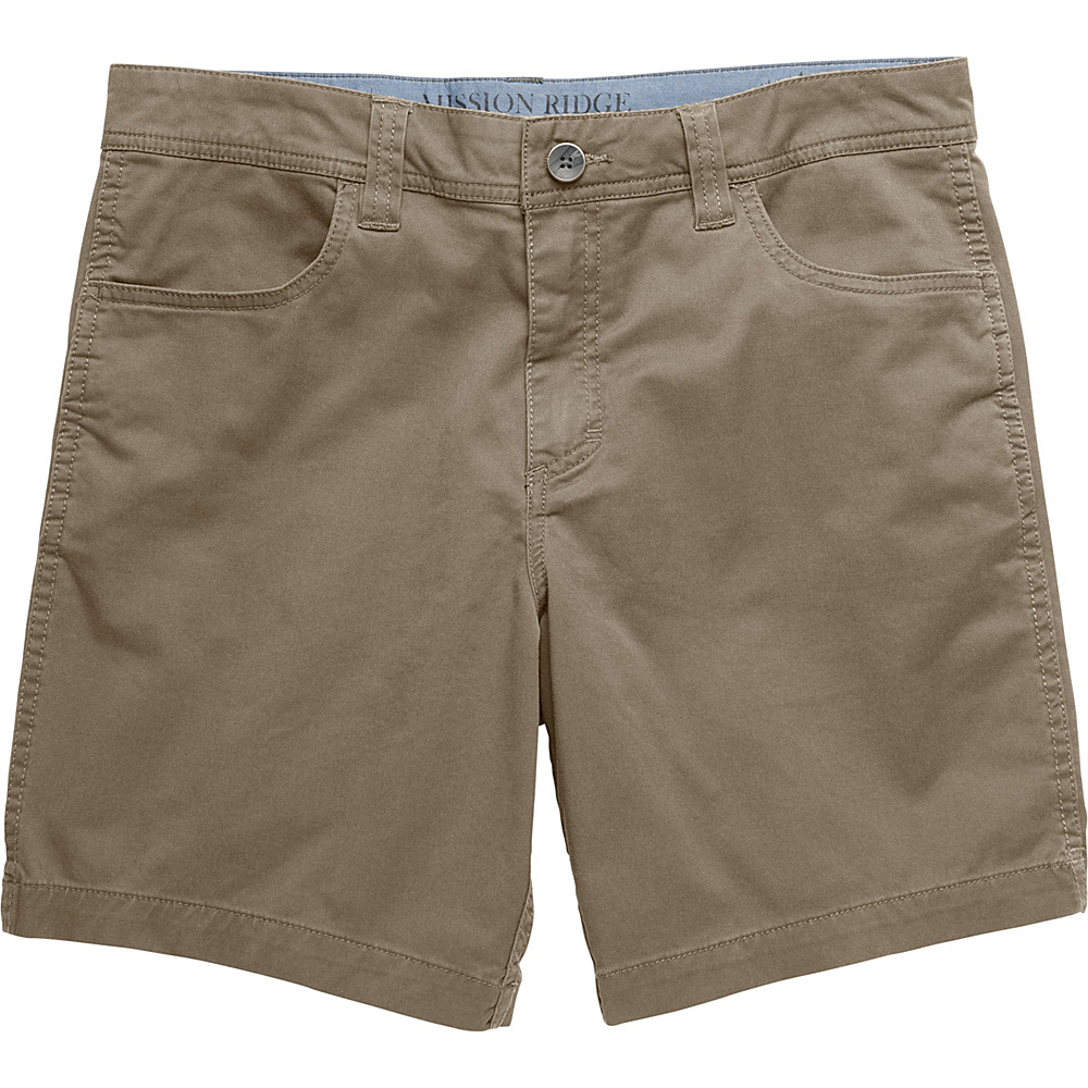 Toad & Co Mission Ridge Short 8 Inch 36 - 8in - Dark Chino - Toad & Co Mens Apparel - Apparel & Footwear, Men's Apparel