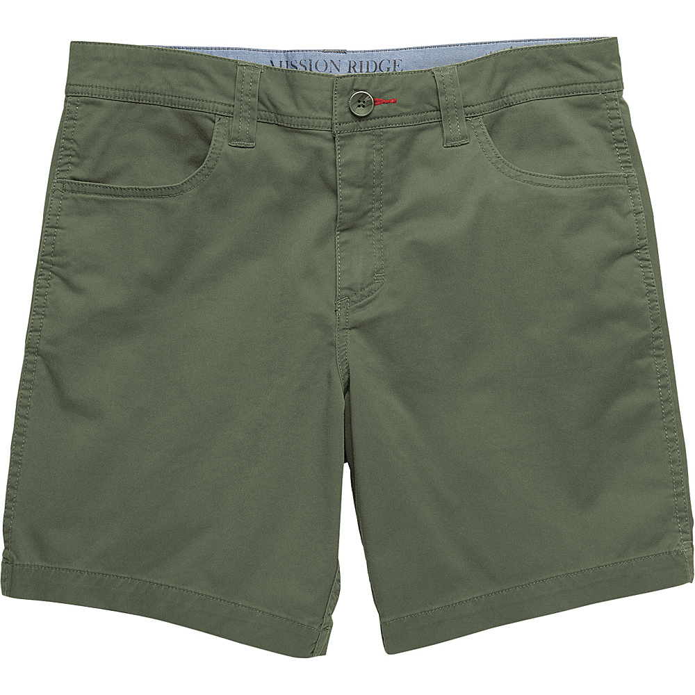 Toad & Co Mission Ridge Short 8 Inch 33 - 8in - Thyme - Toad & Co Mens Apparel - Apparel & Footwear, Men's Apparel