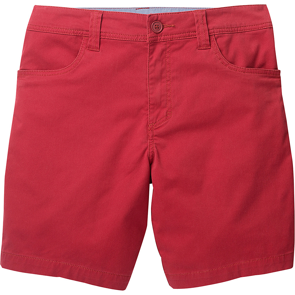 Toad & Co Mission Ridge Short 8 Inch 30 - 8in - Brick Red - Toad & Co Mens Apparel - Apparel & Footwear, Men's Apparel