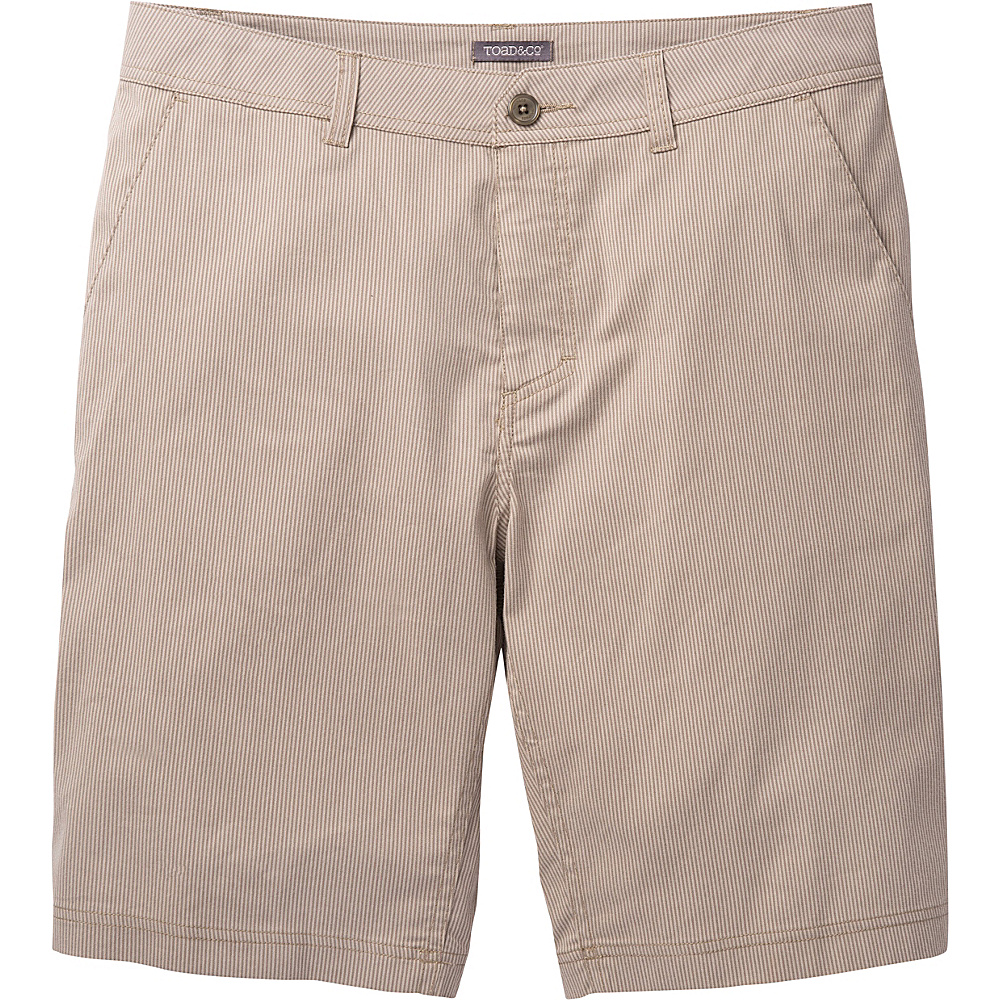 Toad & Co Turnpike Short 34 - Jeep - Toad & Co Mens Apparel - Apparel & Footwear, Men's Apparel