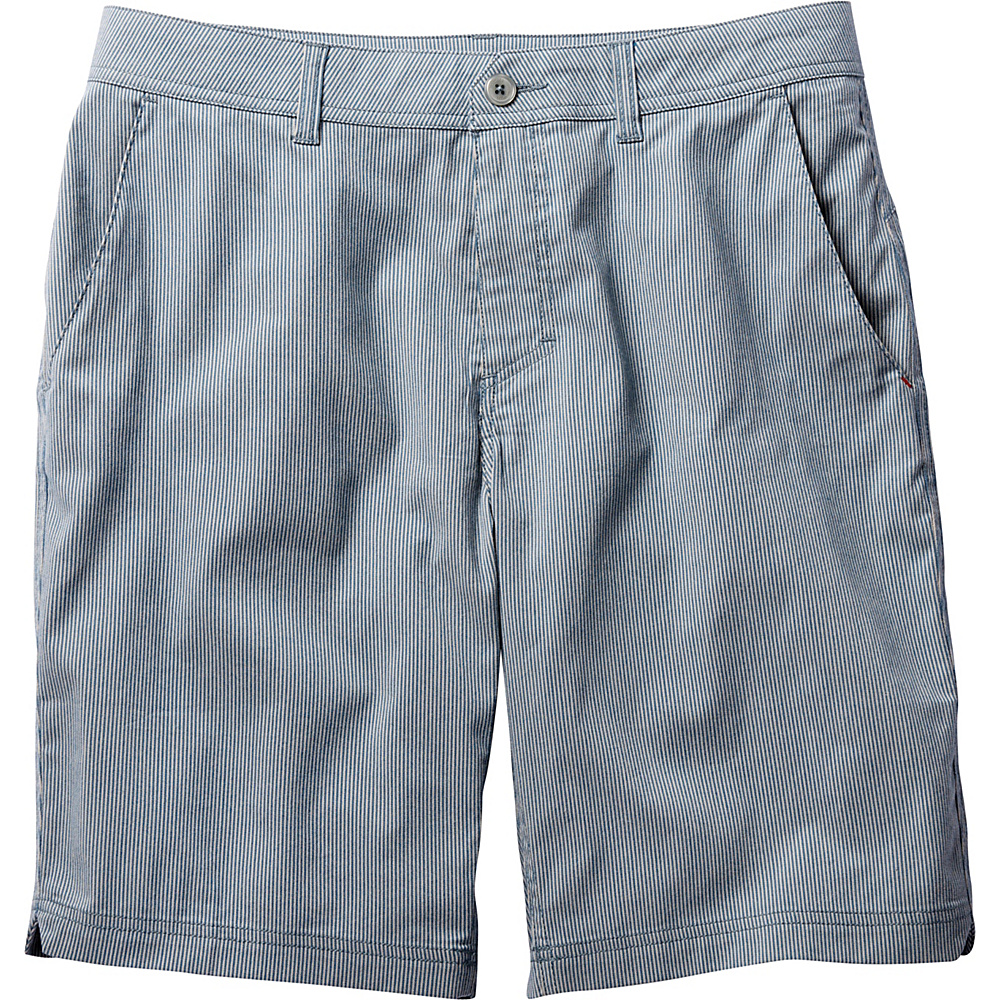 Toad & Co Turnpike Short 32 - Blue Abyss - Toad & Co Mens Apparel - Apparel & Footwear, Men's Apparel