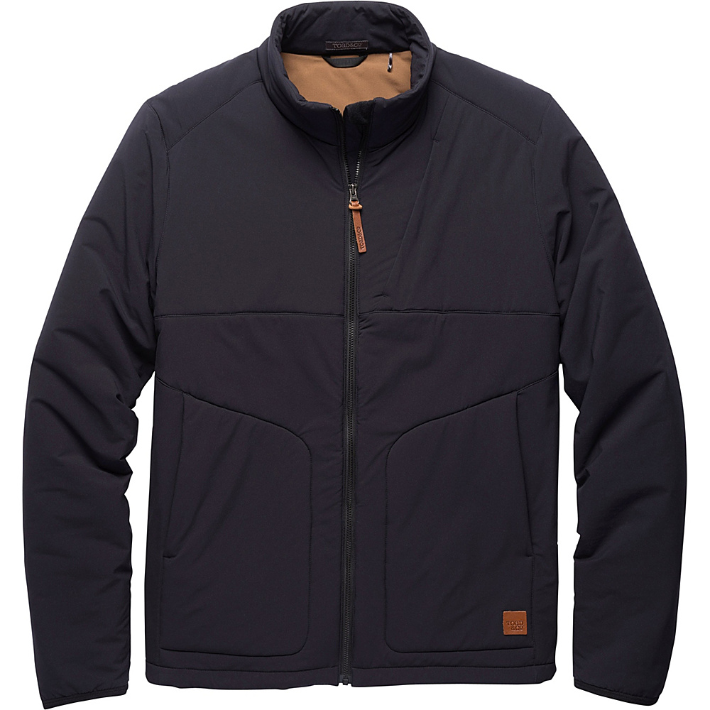 Toad & Co Aerium Jacket L - Black - Toad & Co Mens Apparel - Apparel & Footwear, Men's Apparel