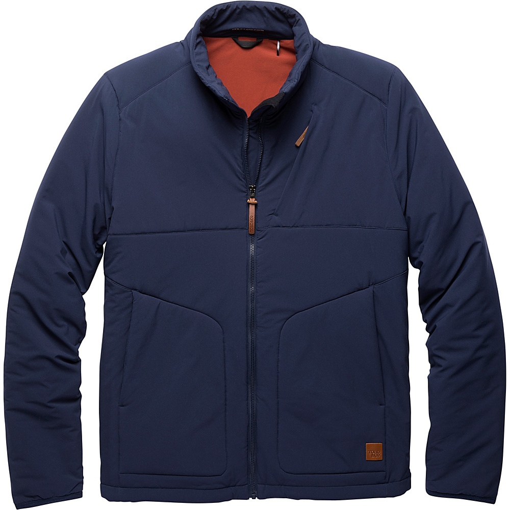 Toad & Co Aerium Jacket L - Deep Navy - Toad & Co Mens Apparel - Apparel & Footwear, Men's Apparel