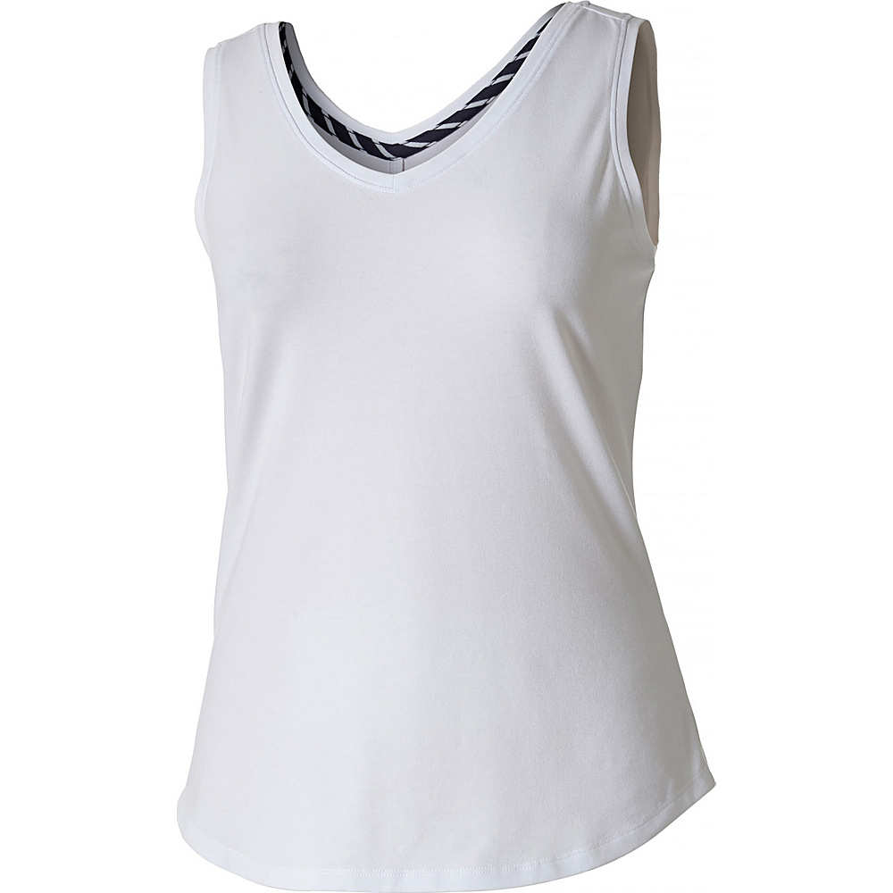 Royal Robbins Womens Active Essential Tank XS - White - Royal Robbins Womens Apparel - Apparel & Footwear, Women's Apparel