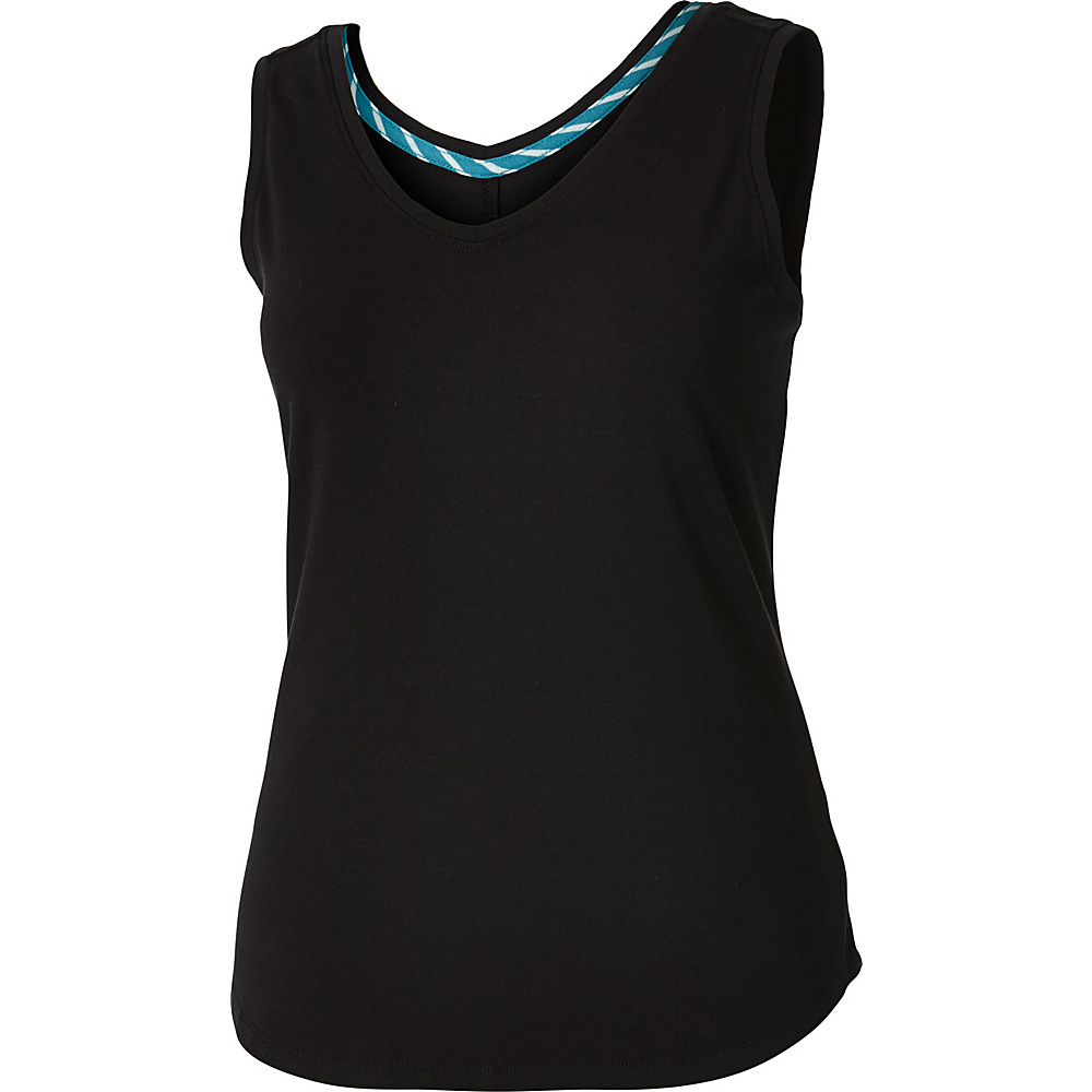 Royal Robbins Womens Active Essential Tank XL - Jet Black - Royal Robbins Womens Apparel - Apparel & Footwear, Women's Apparel