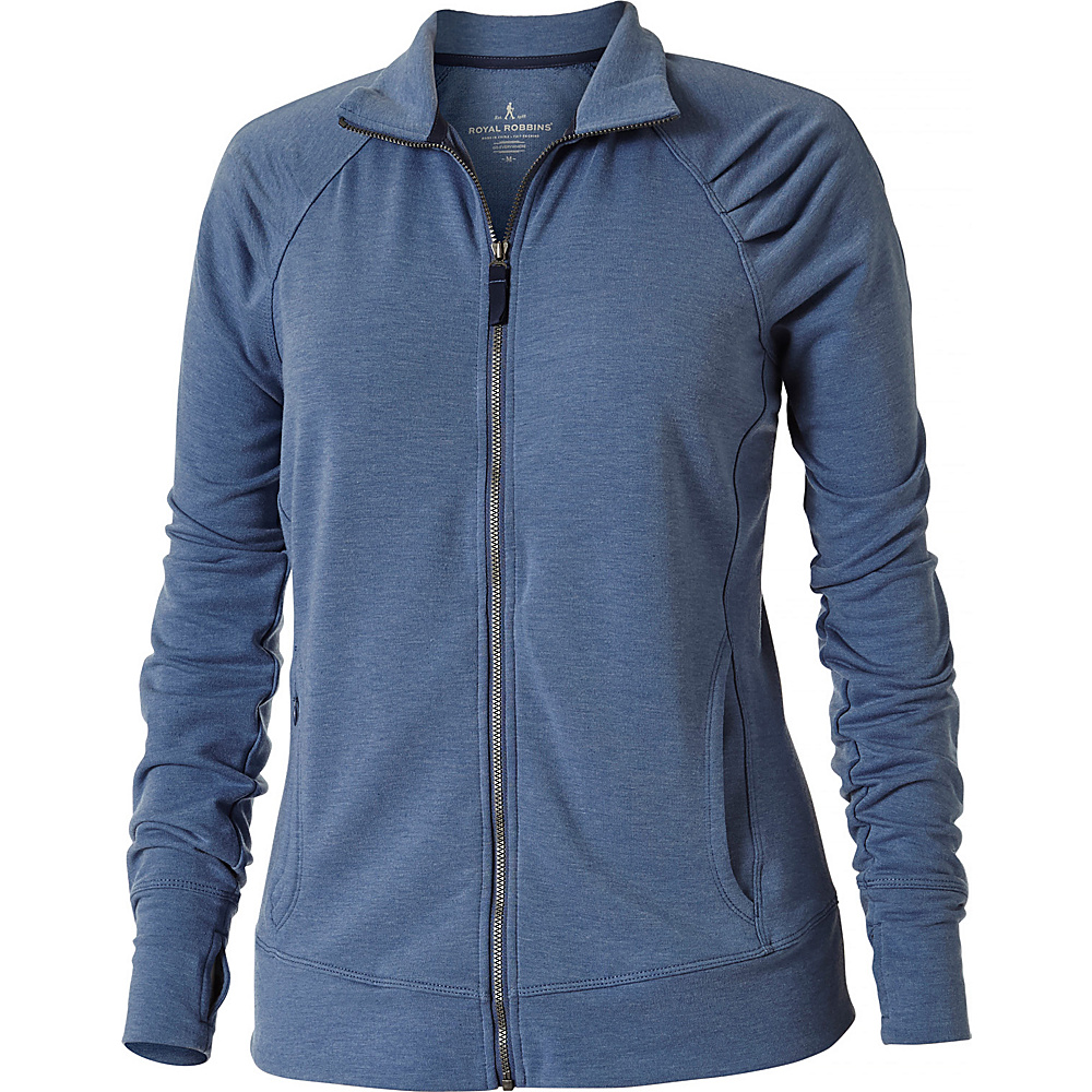 Royal Robbins Womens Channel Island Jacket M - Blue Sea - Royal Robbins Womens Apparel - Apparel & Footwear, Women's Apparel