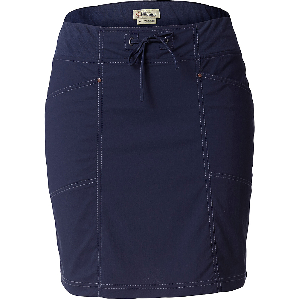 Royal Robbins Womens Jammer Skirt S - Navy - Royal Robbins Womens Apparel - Apparel & Footwear, Women's Apparel