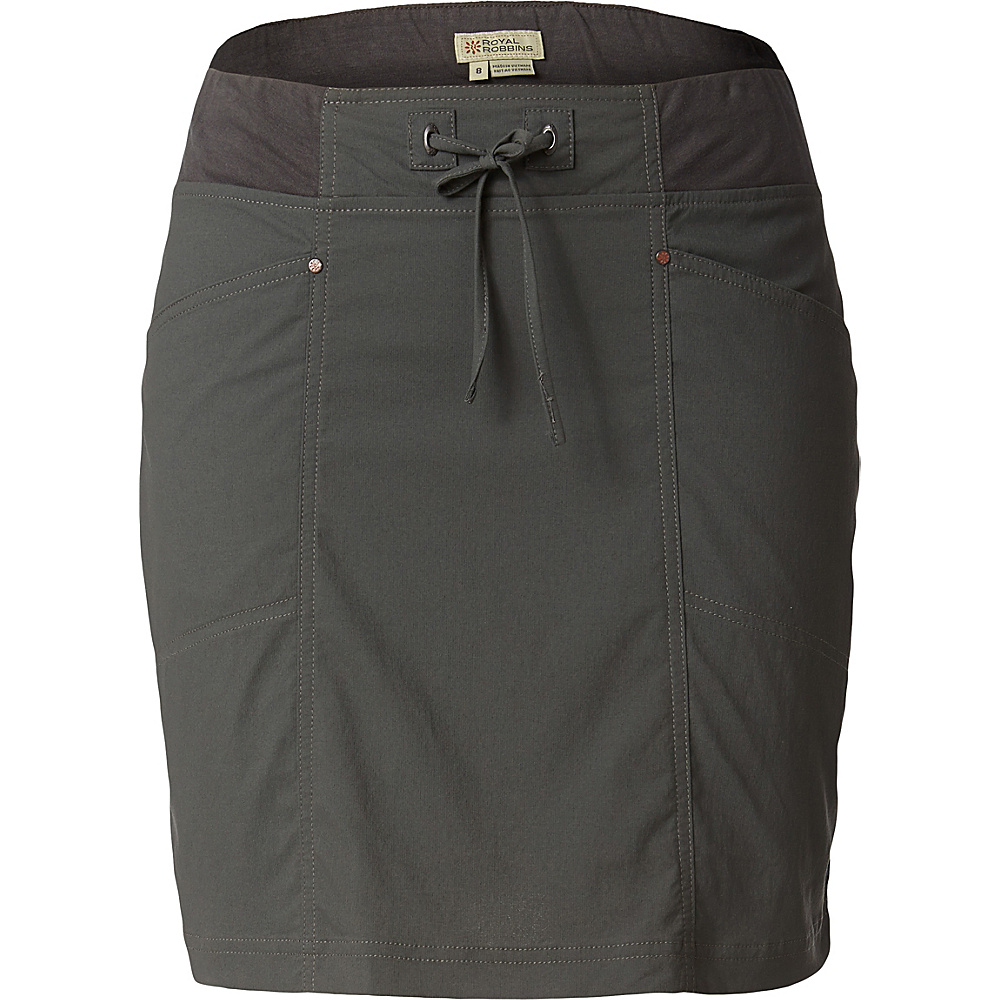 Royal Robbins Womens Jammer Skirt XS - Obsidian - Royal Robbins Womens Apparel - Apparel & Footwear, Women's Apparel