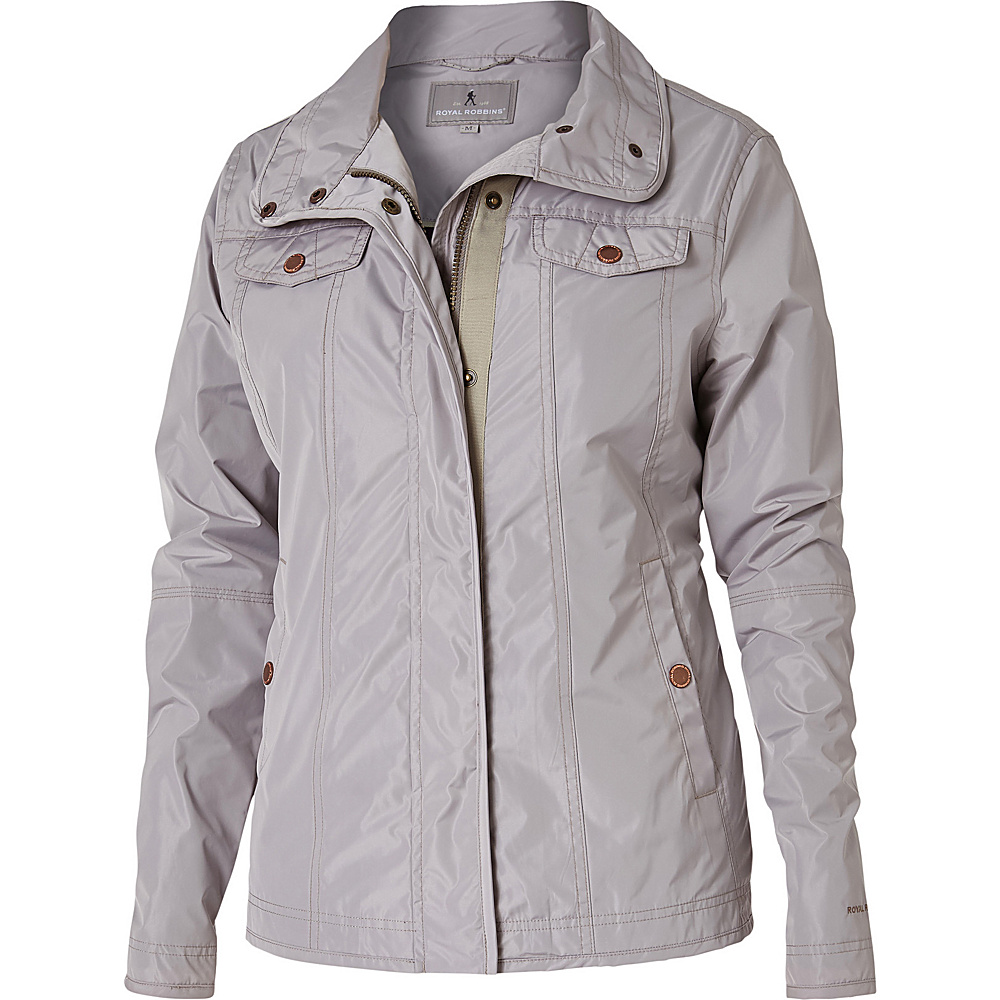 Royal Robbins Womens Gails Force Jacket M - Putty - Royal Robbins Womens Apparel - Apparel & Footwear, Women's Apparel
