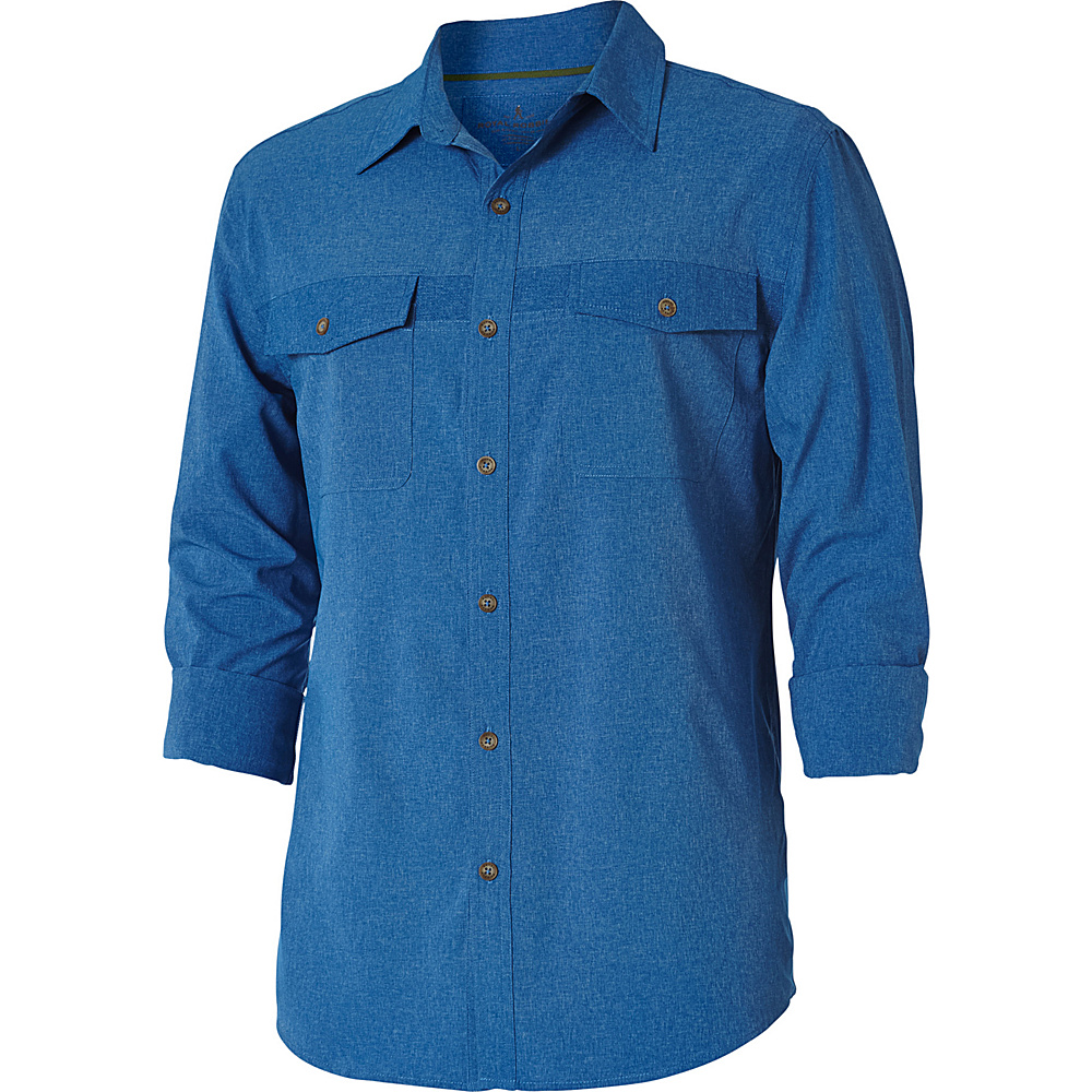Royal Robbins Mens Diablo Long Sleeve Shirt S - Oceania - Royal Robbins Mens Apparel - Apparel & Footwear, Men's Apparel