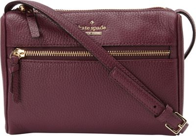 kate spade new york Jackson Street Mini Cayli Crossbody Plum - kate spade new york Designer Handbags