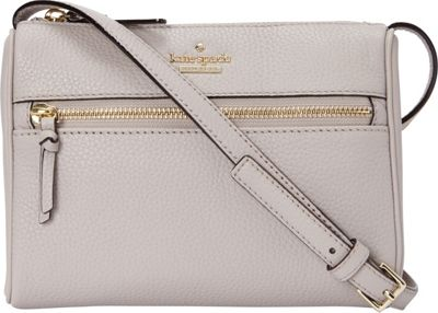 kate spade new york Jackson Street Mini Cayli Crossbody Bone Grey - kate spade new york Designer Handbags