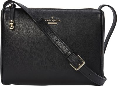 kate spade new york Lombard Street Cayli Crossbody Black - kate spade new york Designer Handbags