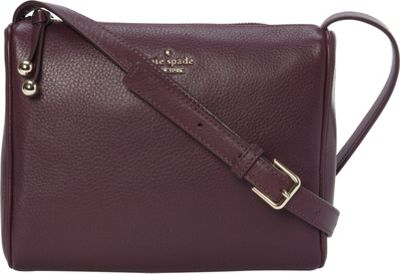 kate spade new york Lombard Street Cayli Crossbody Deep Plum - kate spade new york Designer Handbags
