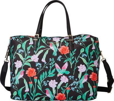 kate spade new york Watson Lane Lyla Satchel Black Multi - kate spade new york Designer Handbags
