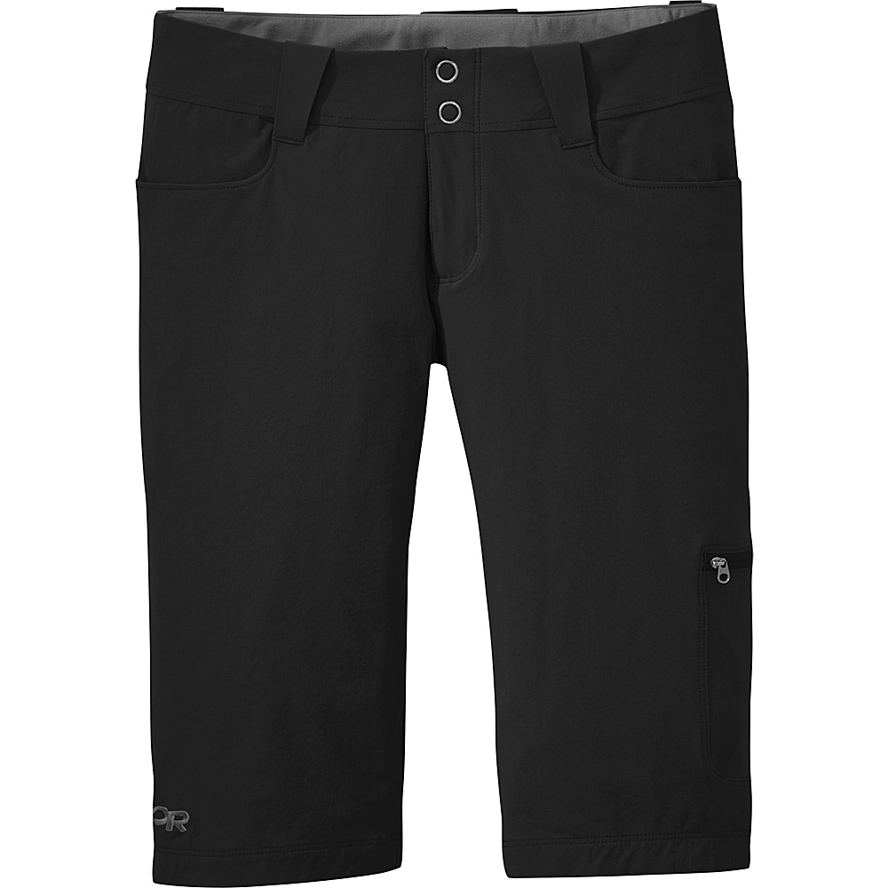 Outdoor Research Womens Ferrosi Shorts 12 - Black - Outdoor Research Womens Apparel - Apparel & Footwear, Women's Apparel
