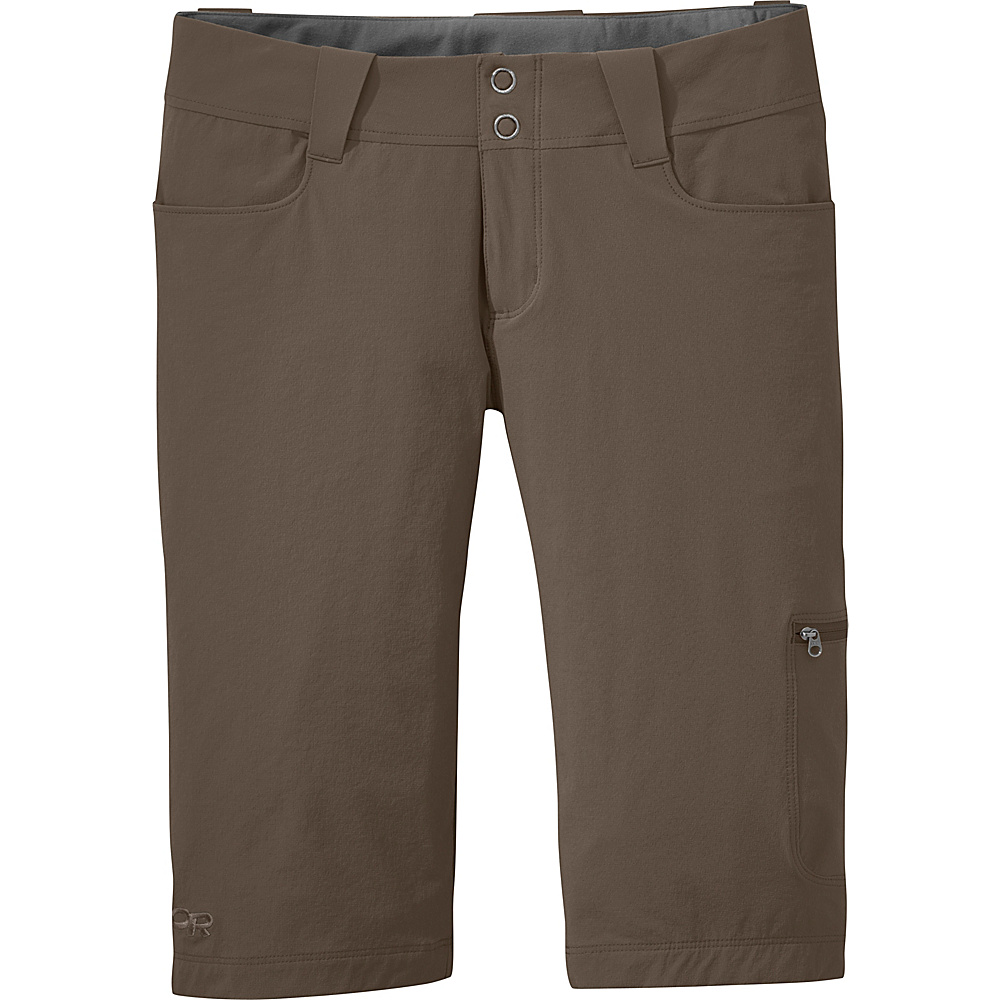 Outdoor Research Womens Ferrosi Shorts 12 - Mushroom - Outdoor Research Womens Apparel - Apparel & Footwear, Women's Apparel