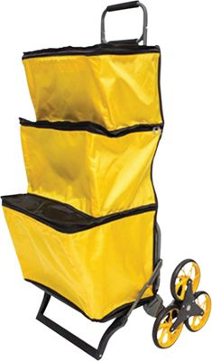 UpCart Stair-Climbing Pro Shopper Cart Yellow - UpCart Luggage Accessories