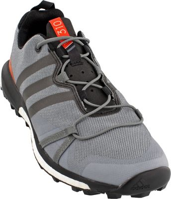 adidas outdoor Mens Terrex Agravic Shoe 7.5 - Vista Grey/Black/Energy - adidas outdoor Men's Footwear
