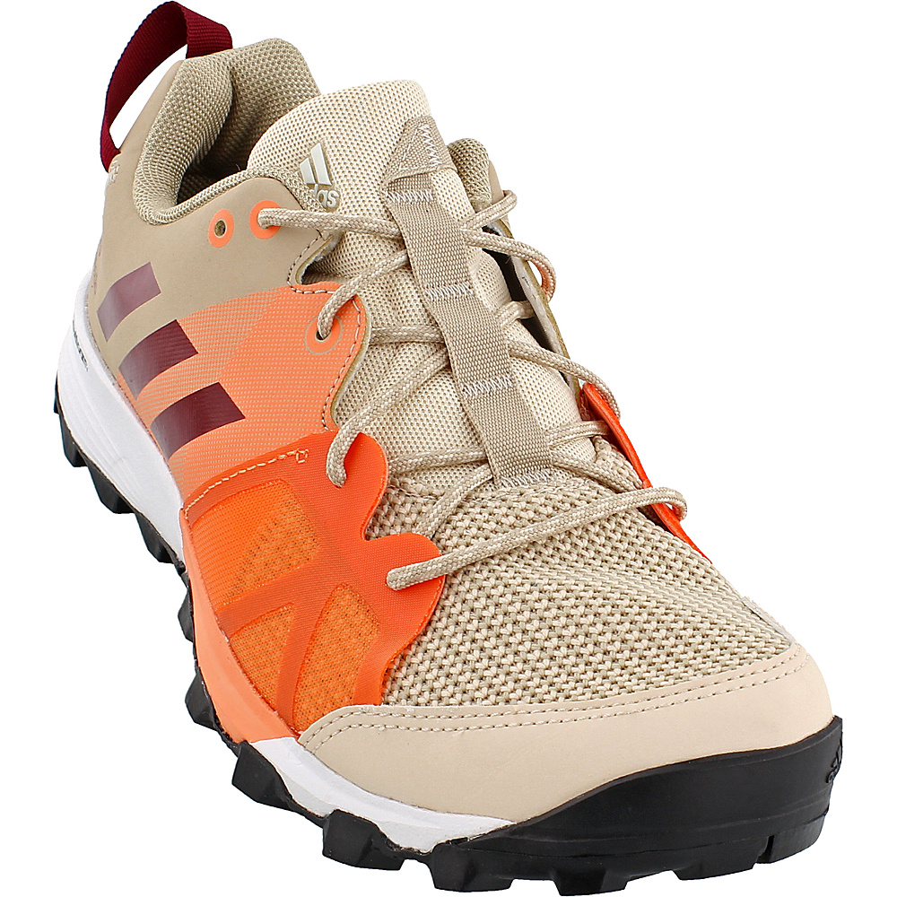 adidas outdoor Womens Kanadia 8 TR Shoe 6.5 - Linen/Col. Burgundy/Glow Orange - adidas outdoor Womens Footwear - Apparel & Footwear, Women's Footwear