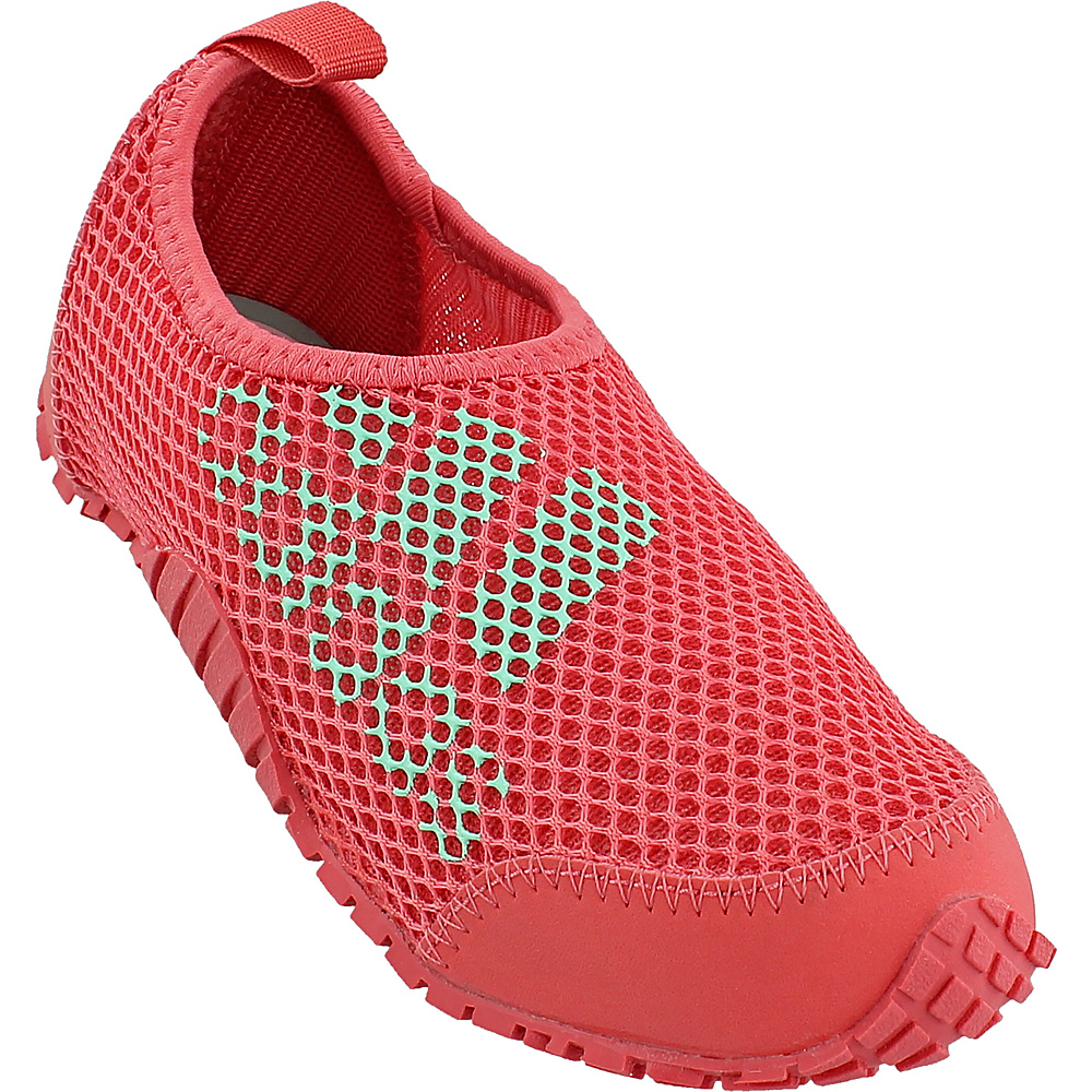adidas outdoor Kids Kurobe Shoe 11.5 (US Kids) - Easy Green/Tactile Pink/Easy Gre - adidas outdoor Womens Footwear - Apparel & Footwear, Women's Footwear