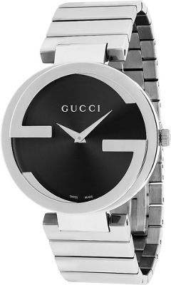 Gucci Watches Women's Interlocking Watch Black - Gucci Watches Watches