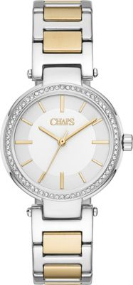 Chaps Alanis Two-Tone Three-Hand Watch Silver/Gold - Chaps Watches